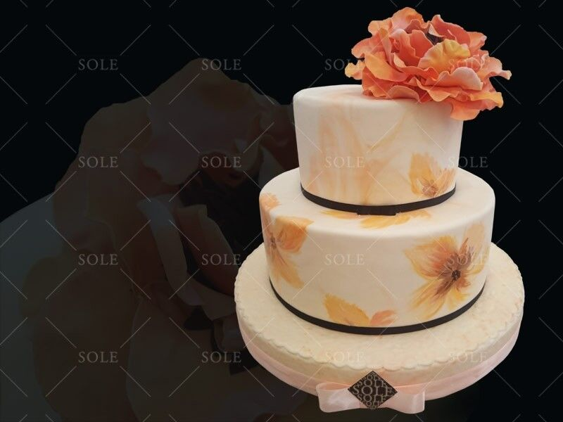 Торт Sole Праздничный торт №55 - фото 1