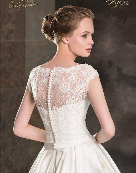 Свадебное платье напрокат Lady White Свадебное платье «Адель» - фото 2