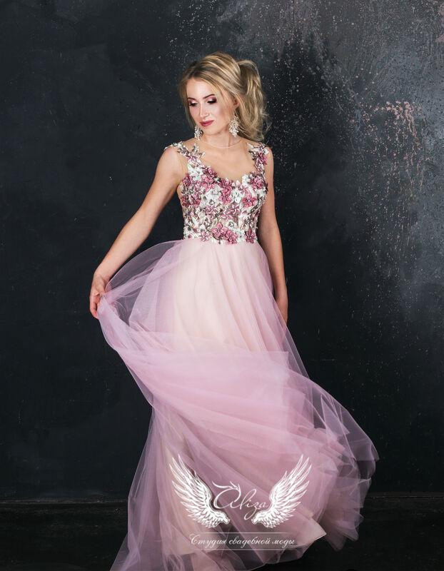 """Вечернее платье ALIZA Вечернее платье """"Rose"""" - фото 1"""