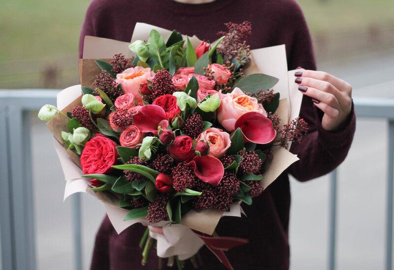 Магазин цветов Cvetok.by Букет «Яркий миг» - фото 1