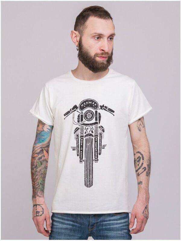 Кофта, рубашка, футболка мужская Medooza Футболка «Bike» SKU0090000 - фото 1