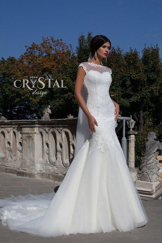 Свадебное платье напрокат Crystal Свадебное платье  Primavera - фото 1