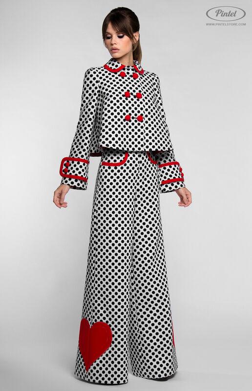 Костюм женский Pintel™ Комбинированный костюм YASMIN - фото 1