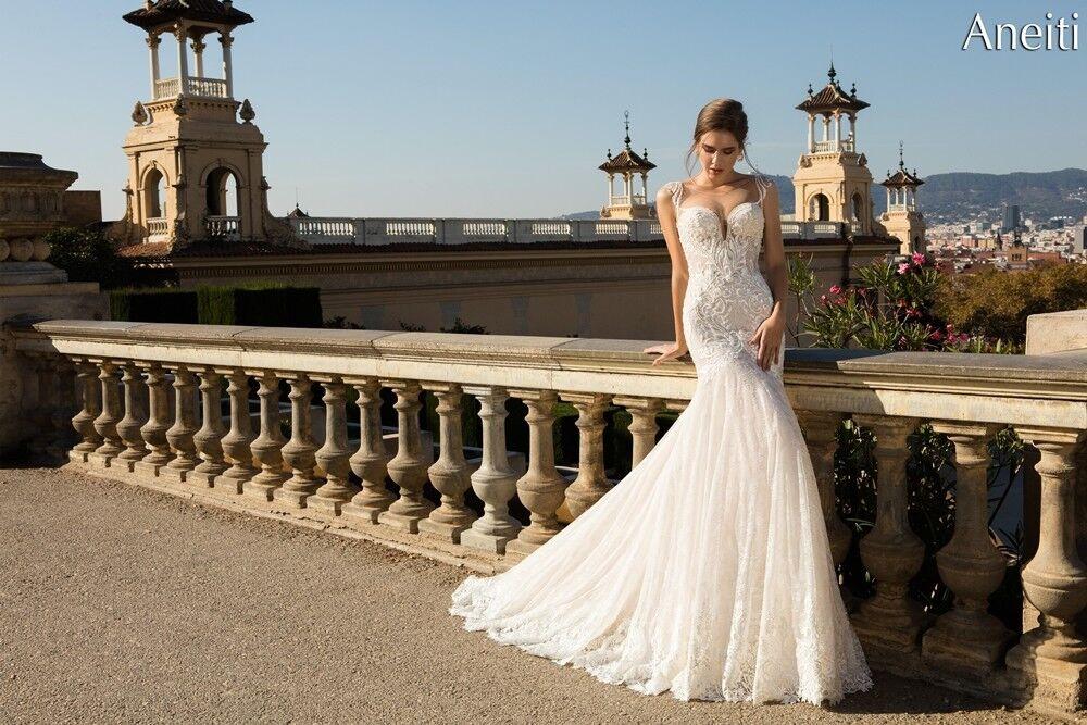 Свадебный салон Bonjour Galerie Свадебное платье «Aneitti» из коллекции LA POESIE - фото 4