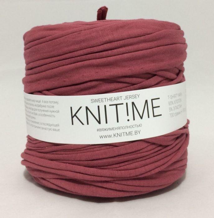 Товар для рукоделия Knit!Me Ленточная пряжа Sweetheart Jersey - SJ402 - фото 1