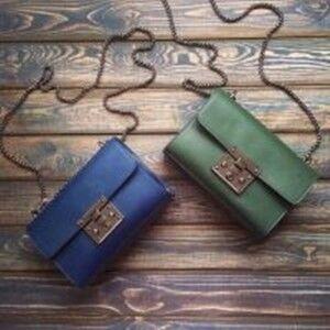Магазин сумок Vezze Кожаная женская сумка С00149 - фото 1
