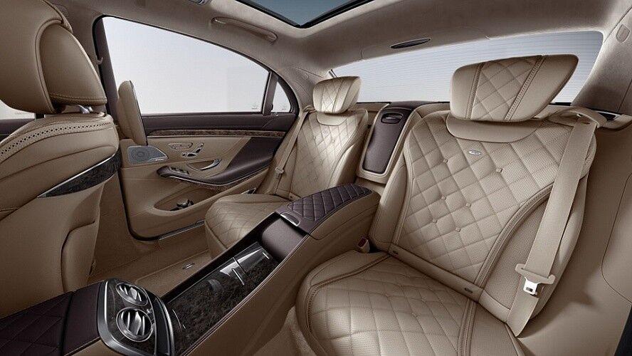 Аренда авто Mercedes-Benz Maybach S-class 2016 г. - фото 6