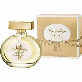 Подарок на Новый год Antonio Banderas Вода туалетная Golden Secret Women, 80 мл - фото 1