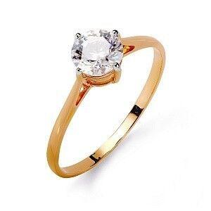 Ювелирный салон Топаз Кольцо золотое т142015547 - фото 1