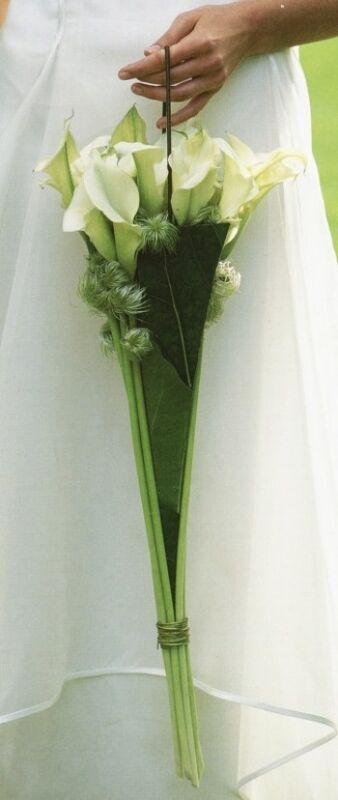 Магазин цветов Ветка сакуры Свадебный букет № 81 - фото 1
