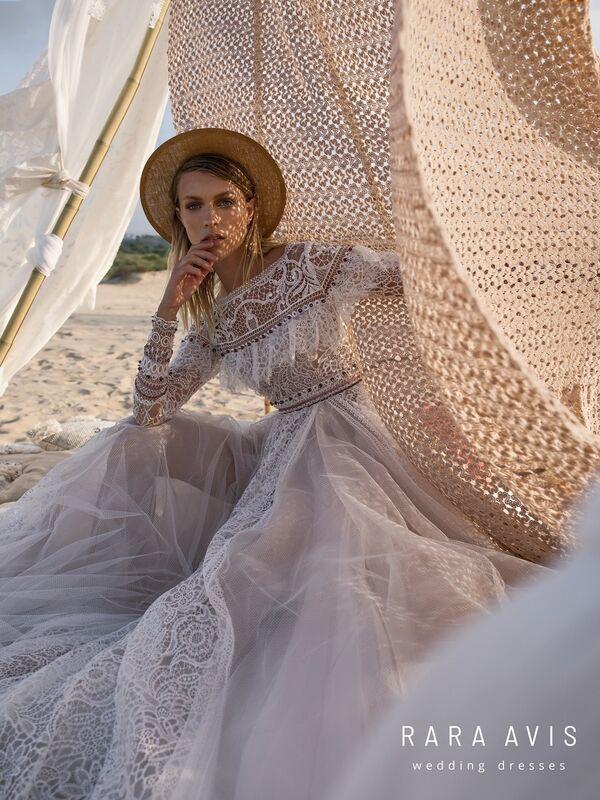 Свадебное платье напрокат Rara Avis Свадебное платье Wild Soul Alyfi - фото 2