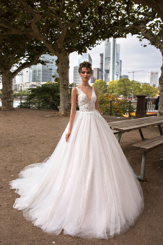 Свадебное платье напрокат Vanilla room Платье свадебное Энжел - фото 4