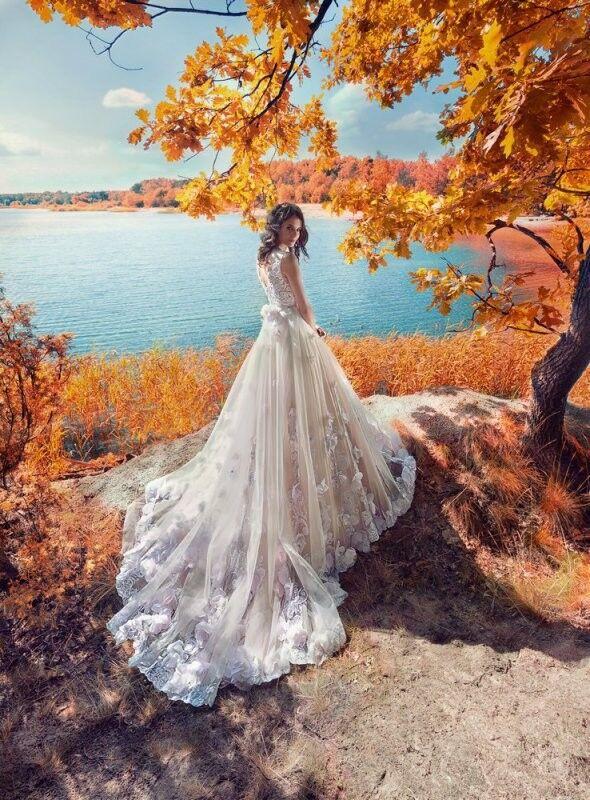 Свадебный салон Papilio Свадебное платье «Султанка» 1751L - фото 3