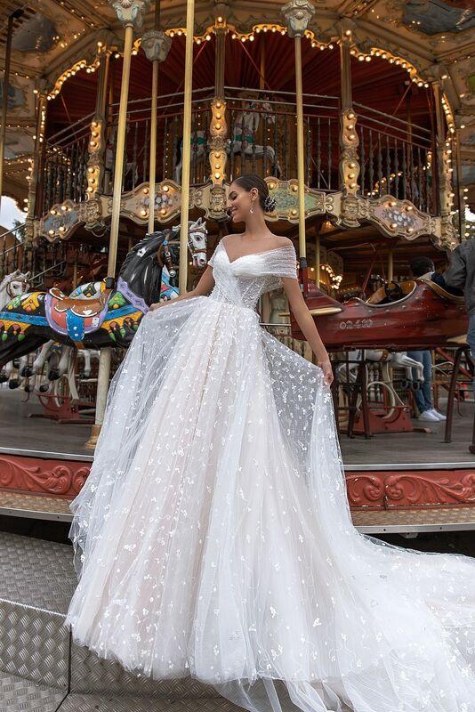 "Свадебный салон ALIZA свадебное платье ""Channye"" - фото 4"