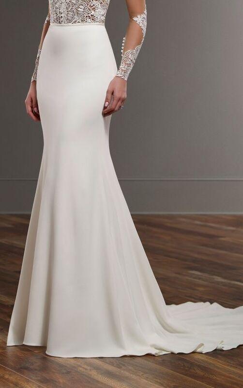 Свадебное платье напрокат Essense of Australia Платье свадебное Blake Sanja - фото 5
