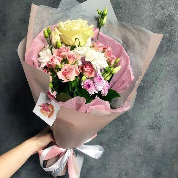 Магазин цветов Кошык кветак Букет классический №4 - фото 1