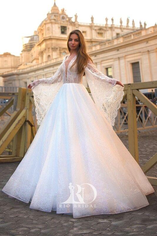 Свадебное платье напрокат Rafineza Свадебное платье Emma напрокат - фото 1