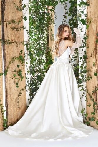 Свадебный салон Papilio Свадебное платье «Wonderland» #1800-L Роза - фото 2