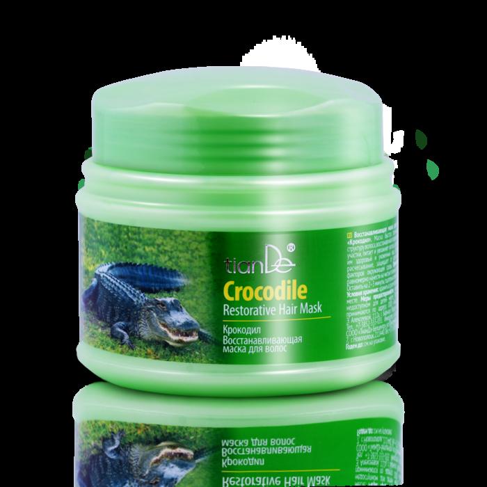 Уход за волосами tianDe Восстанавливающая маска для волос «Крокодил» - фото 1