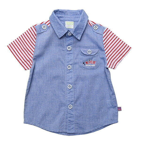 Кофта, майка детская Sweet Berry Рубашка для мальчика SB176146 - фото 1