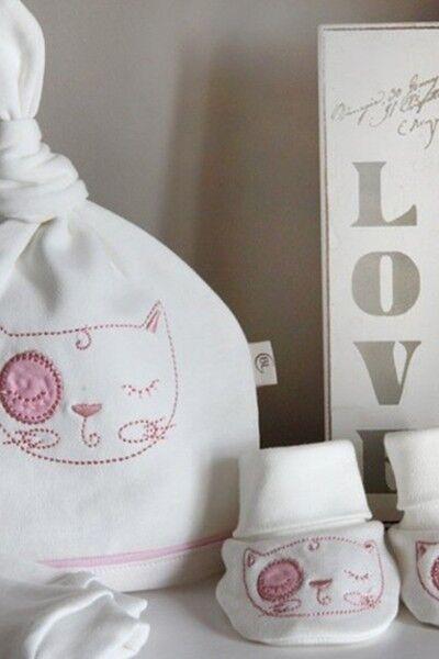 Одежда для новорожденных Babyluna Комплект «Кошечки» - фото 2