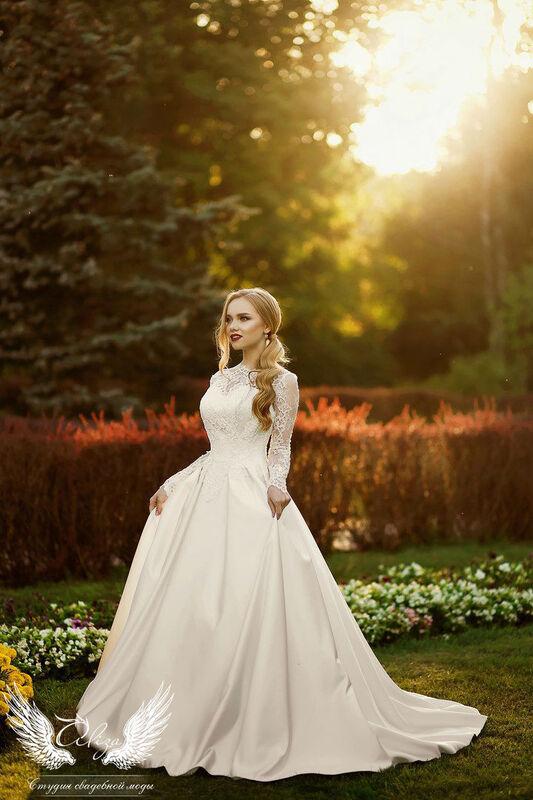 Свадебный салон ALIZA Платье свадебное «Грация» Soffito - фото 1