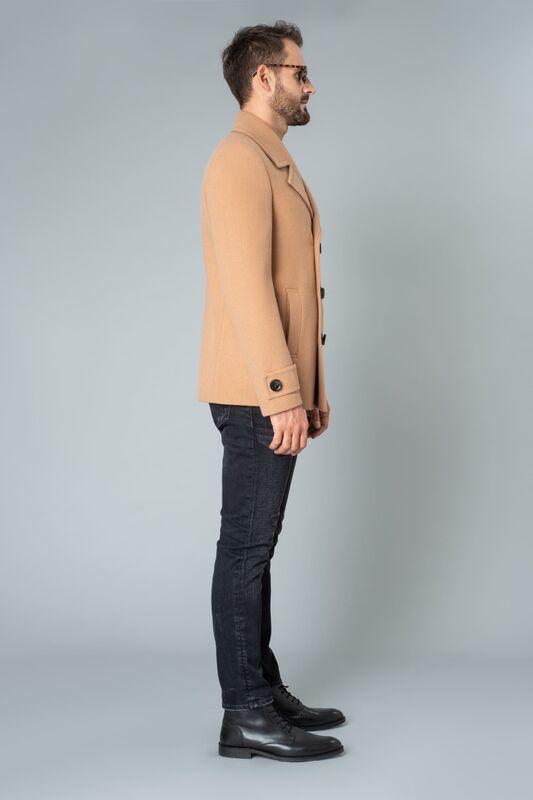 Верхняя одежда мужская Etelier Пальто мужское демисезонное 1М-9598-1 - фото 7