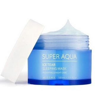 Уход за лицом Missha Super Aqua Ice Tear Маска для лица увлажняющая ночная - фото 1