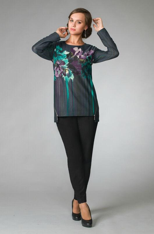 Кофта, блузка, футболка женская Gold Style Туника женская 1999 - фото 1