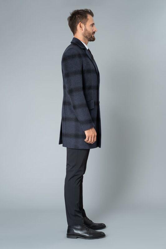 Верхняя одежда мужская Etelier Пальто мужское демисезонное 1М-90161-1 - фото 2