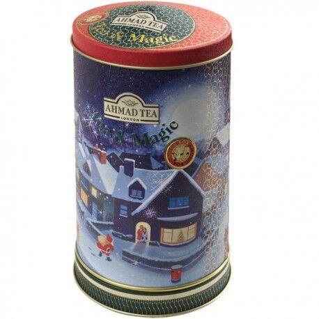 Подарок Ahmad Чай «Earl Grey» в жестяной банке, музыкальная шкатулка, 80 гр - фото 1