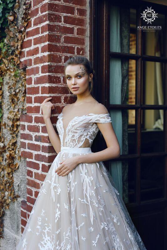Свадебный салон Ange Etoiles Свадебное платье AEriality Collection  Etel - фото 2