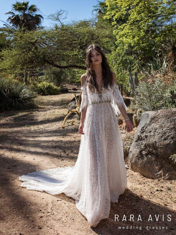 Свадебное платье напрокат Rara Avis Свадебное платье Wild Soul Haniel - фото 4