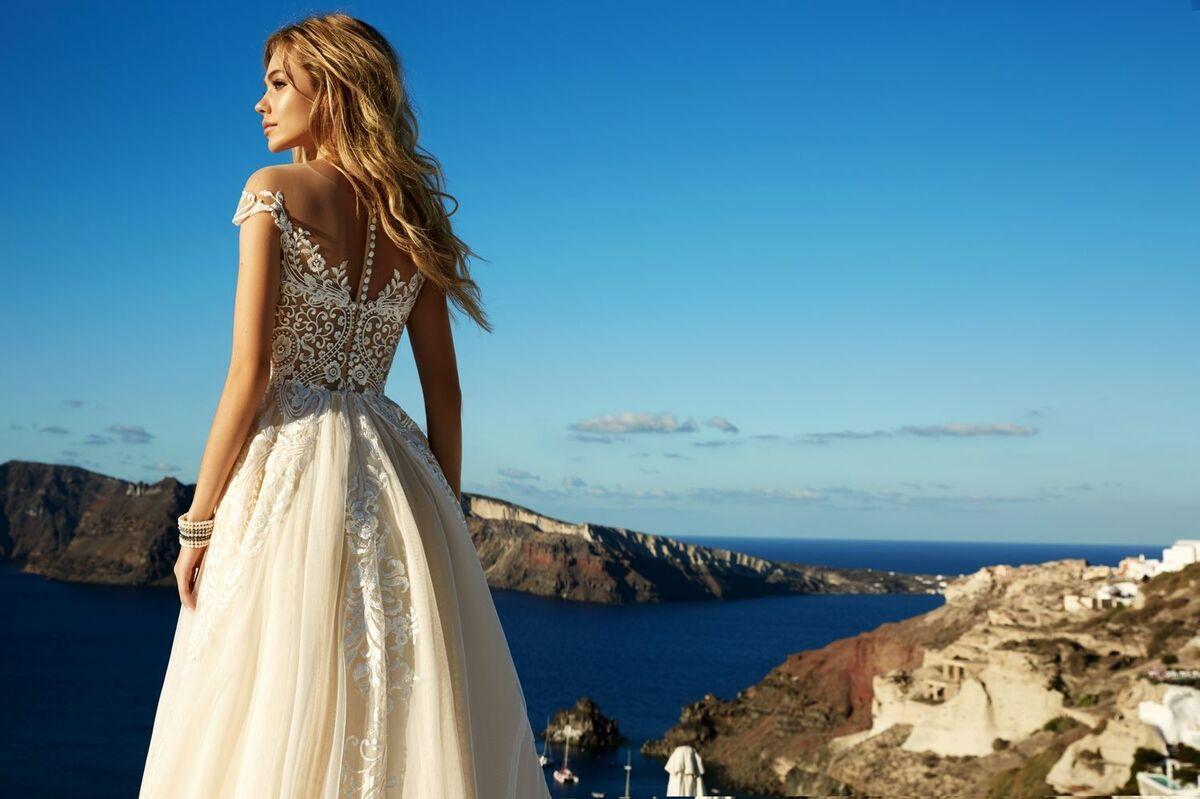 Свадебное платье напрокат Eva Lendel Платье свадебное Cameron - фото 3