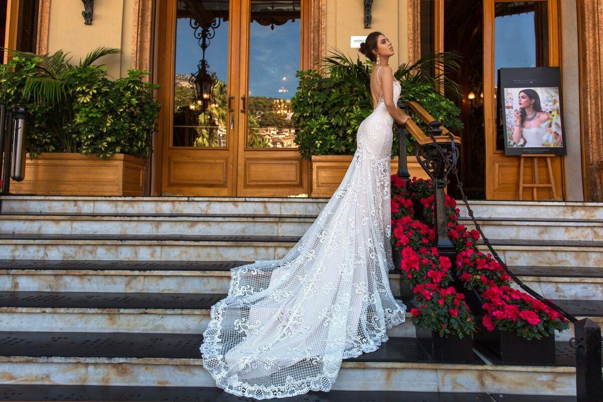 Свадебное платье напрокат Crystal Свадебное платье Fler - фото 2