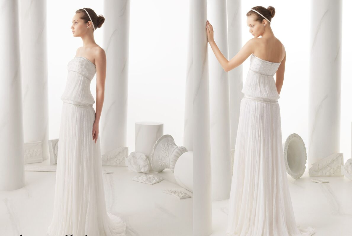 Свадебное платье напрокат Rosa Clara Платье свадебное Narela - фото 2