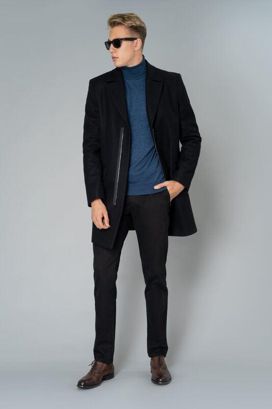 Верхняя одежда мужская Etelier Пальто мужское демисезонное 1М-9130-1 - фото 5