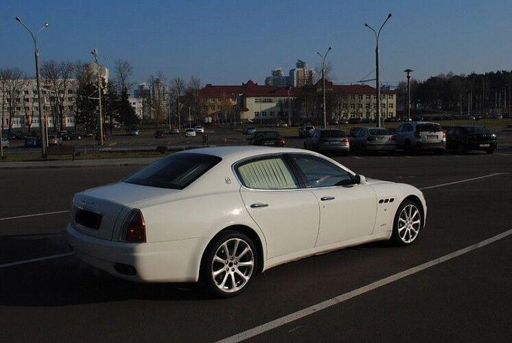 Аренда авто Maserati Quattroporte - фото 3