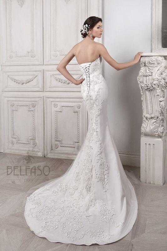 Свадебное платье напрокат Belfaso Платье свадебное Djovanna - фото 2