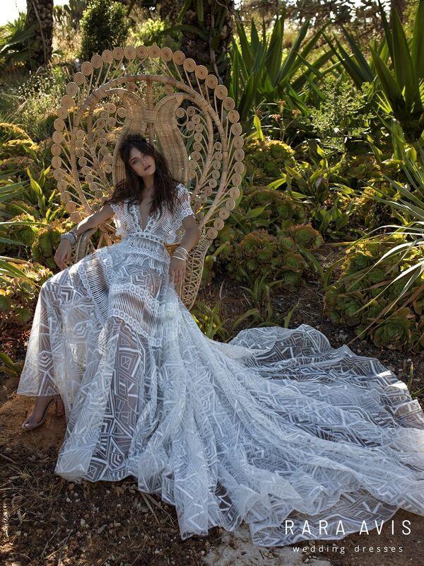 Свадебный салон Rara Avis Платье свадебное Wild Soul Jasel - фото 3