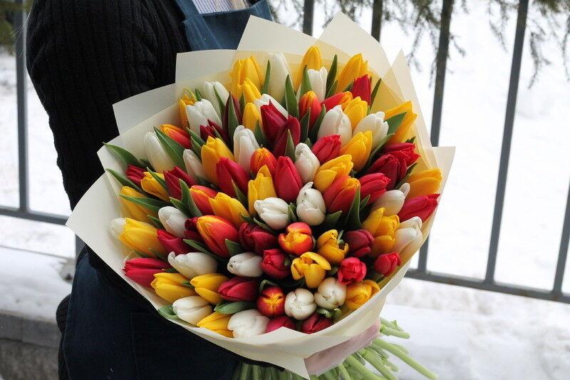 Магазин цветов Cvetok.by Букет «Тёплая весна» - фото 1