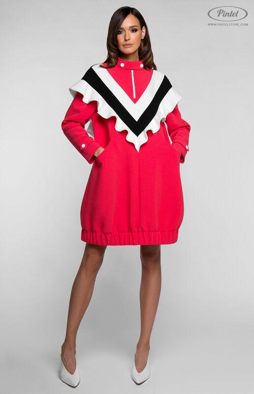 Платье женское Pintel™ Платье-свитшот в романтическом стиле FELISHA - фото 4