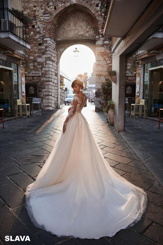 Свадебный салон Bonjour Galerie Платье свадебное SLAVA из коллекции BELLA SICILIA - фото 4