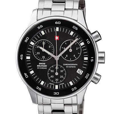 Часы Swiss Military by Chrono Наручные часы SM30052.01 - фото 1