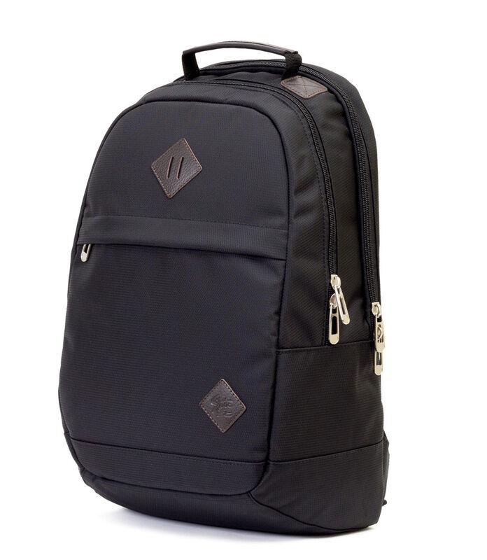 Магазин сумок Studio 58 Рюкзак молодежный с отделением для ноутбука черный 9007 - фото 1