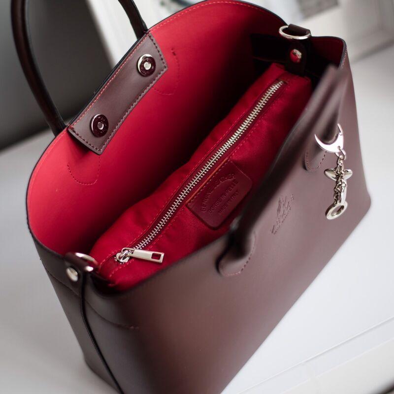 Магазин сумок Vezze Кожаная женская сумка C00439 - фото 3