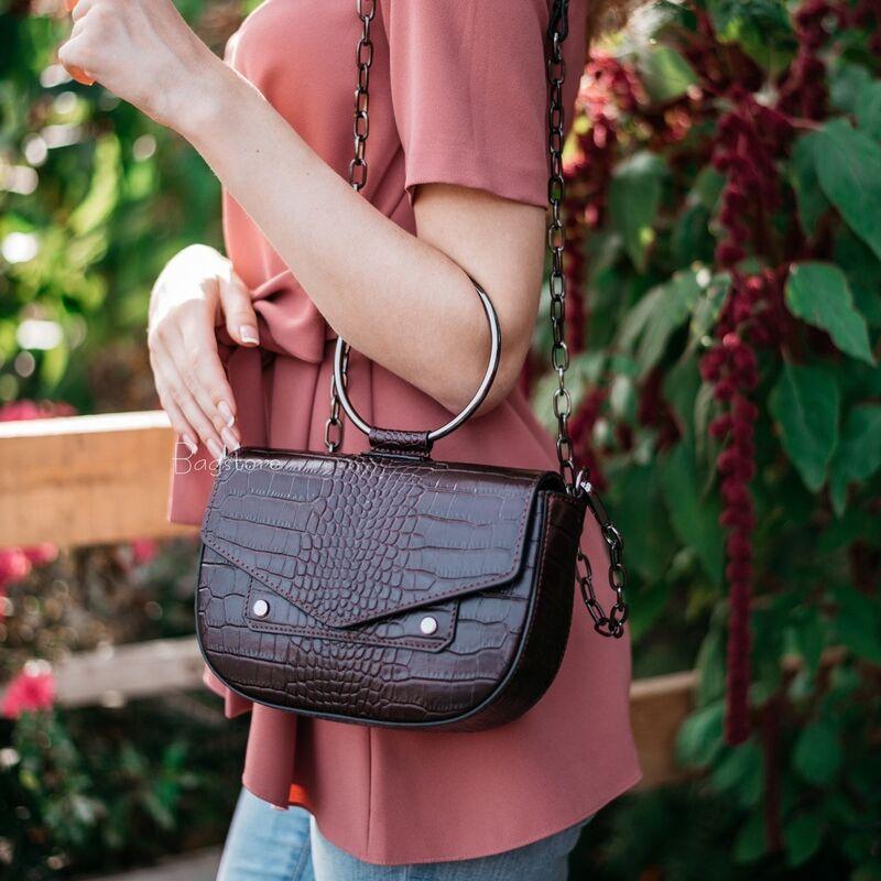 Магазин сумок Vezze Кожаная женская сумка C00536 - фото 1