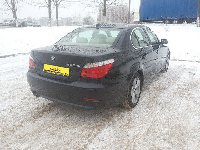 Аренда авто BMW 528 (Е60) - фото 3