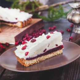 Торт ФМ «Престиж» Торт «Брусничный с белым шоколадом» - фото 1