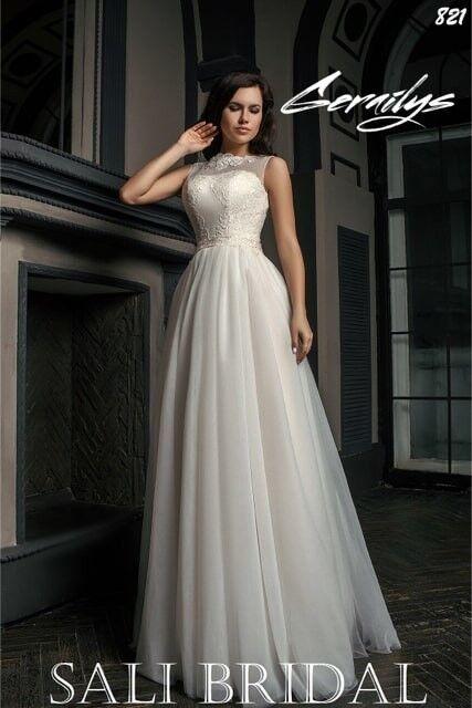 Свадебный салон Sali Bridal Свадебное платье 821 - фото 3